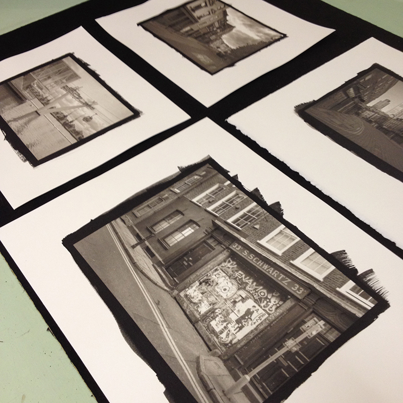 4 Platinum/Palldium prints made by Keith Greenhough